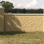 Block Wall Fence Designs