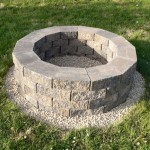 Build A Fire Pit With Retaining Wall Blocks
