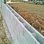 Building A Concrete Block Retaining Wall