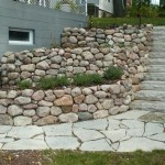 How To Build A Fieldstone Retaining Wall With Mortar