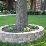 How To Build Retaining Wall Around Tree