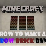 How To Make A Brick Wall Banner In Minecraft