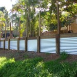 How To Make Corrugated Metal Retaining Wall