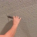 How To Repair Loose Drywall Tape On Textured Ceiling