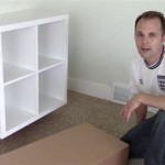 How To Wall Mount Ikea Kallax