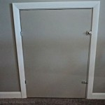 Knee Wall Access Door Diy