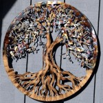 Large Tree Of Life Metal Wall Art
