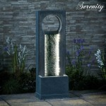 Serenity Cascading Wall Water Feature