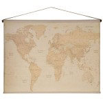 World Map Wall Decor Hobby Lobby