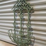 Wrought Iron Wall Planters